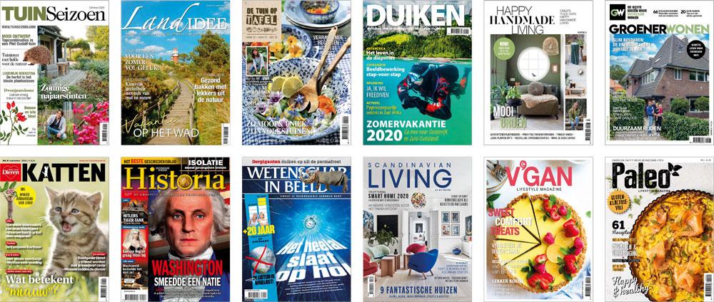 Covers tijdschriften